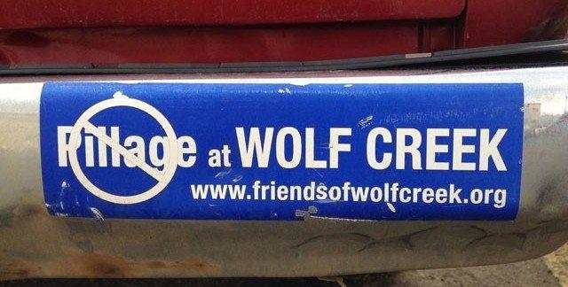 Wolf Creek Bumper Sticker