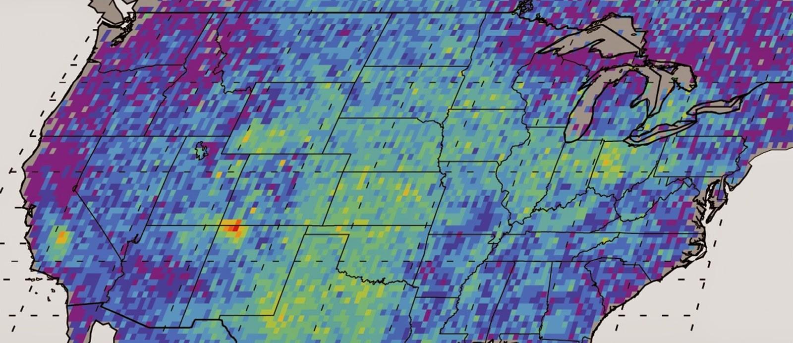 Methane Hotspot Map