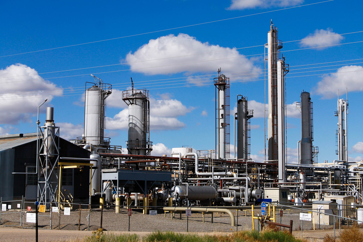 Chaco Power Plant Natural Gas