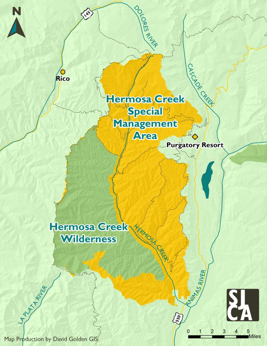 Dolores River Colorado Map.Hermosa Creek San Juan Citizens Alliance