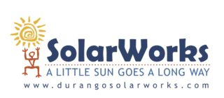 Logo of SolarWorks, local solar installer