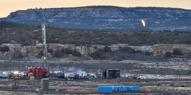 oil and gas operations and flaring