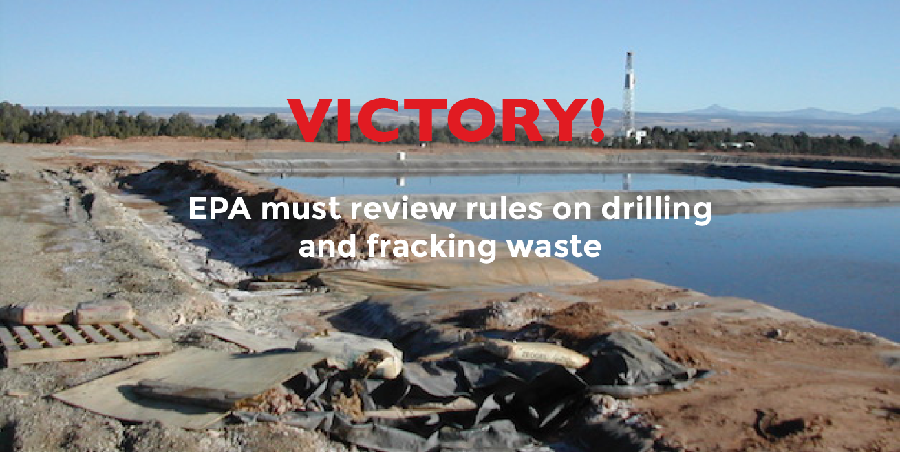 EPA to update oil and gas waste regulations