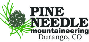 Logo for Pine Needle Mountaineering