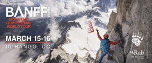 Banff Film Festival Durango Banner