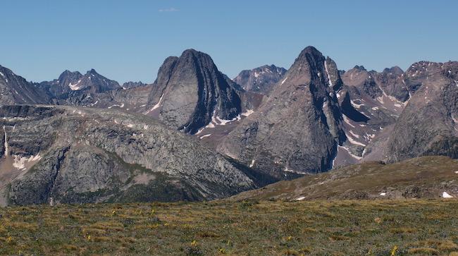 Picture high in the Weminuche Wilderness