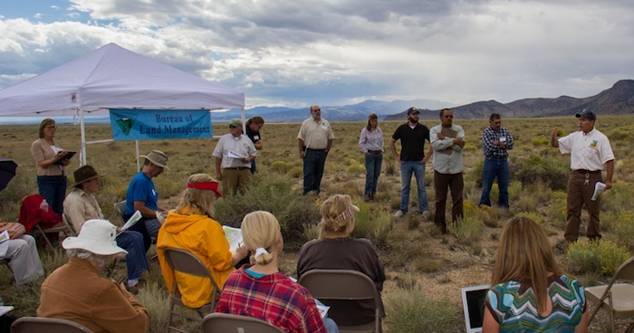 Photo of BLM meeting