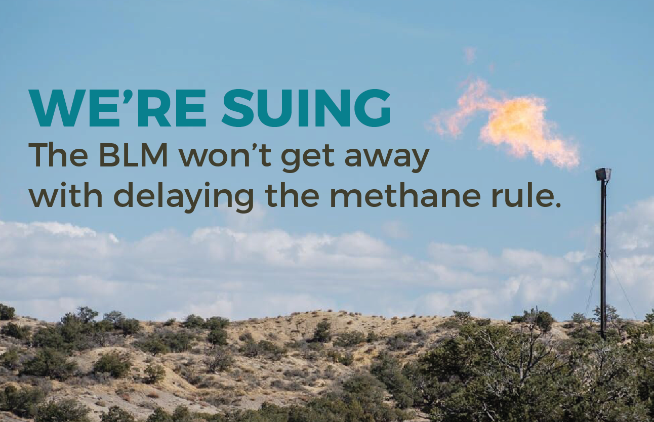 Methane Rule Lawsuit