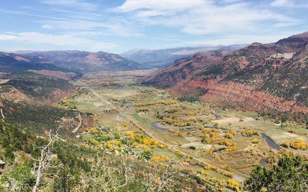 View of Animas Valley from Animas Mountain