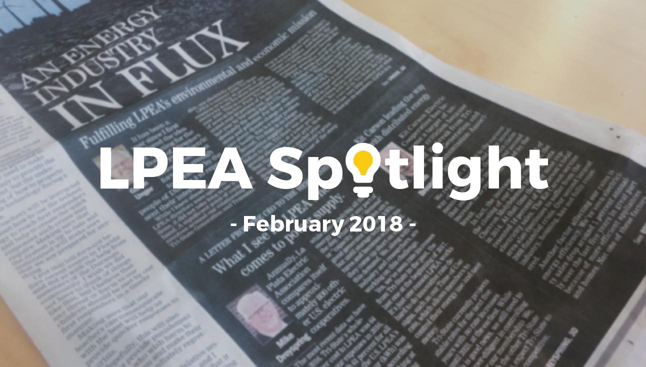 LPEA February 2018 Spotlight