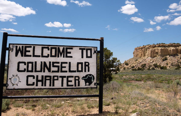 Picture of sign to Counselor Chapter House