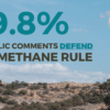 Public Defends BLM Methane Rule, Again