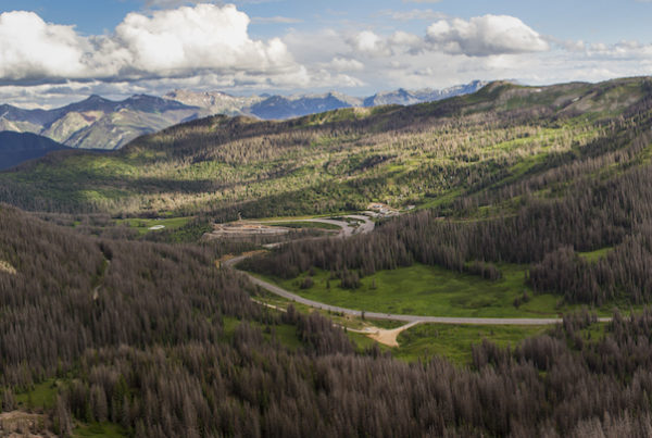 photo of wolf creek pass