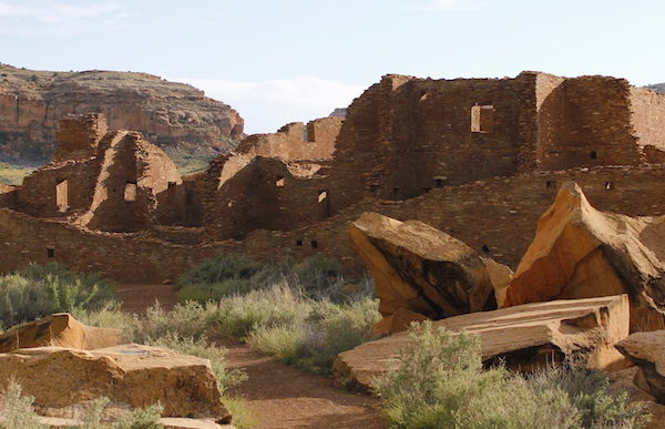 Image of ruins at Chaco Culture National Historic Park