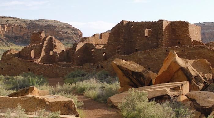 Image of ruins at Chaco Culture National Historic Park