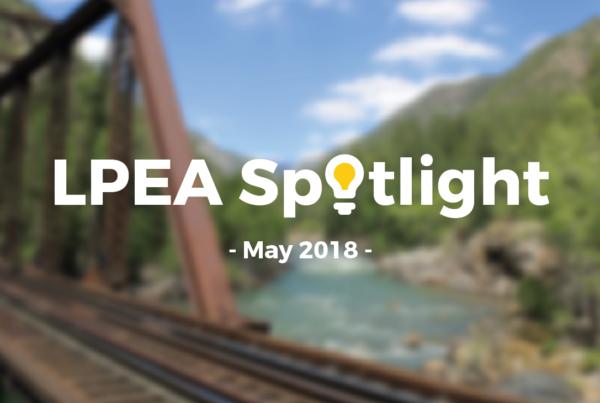 May 2018 LPEA Spotlight