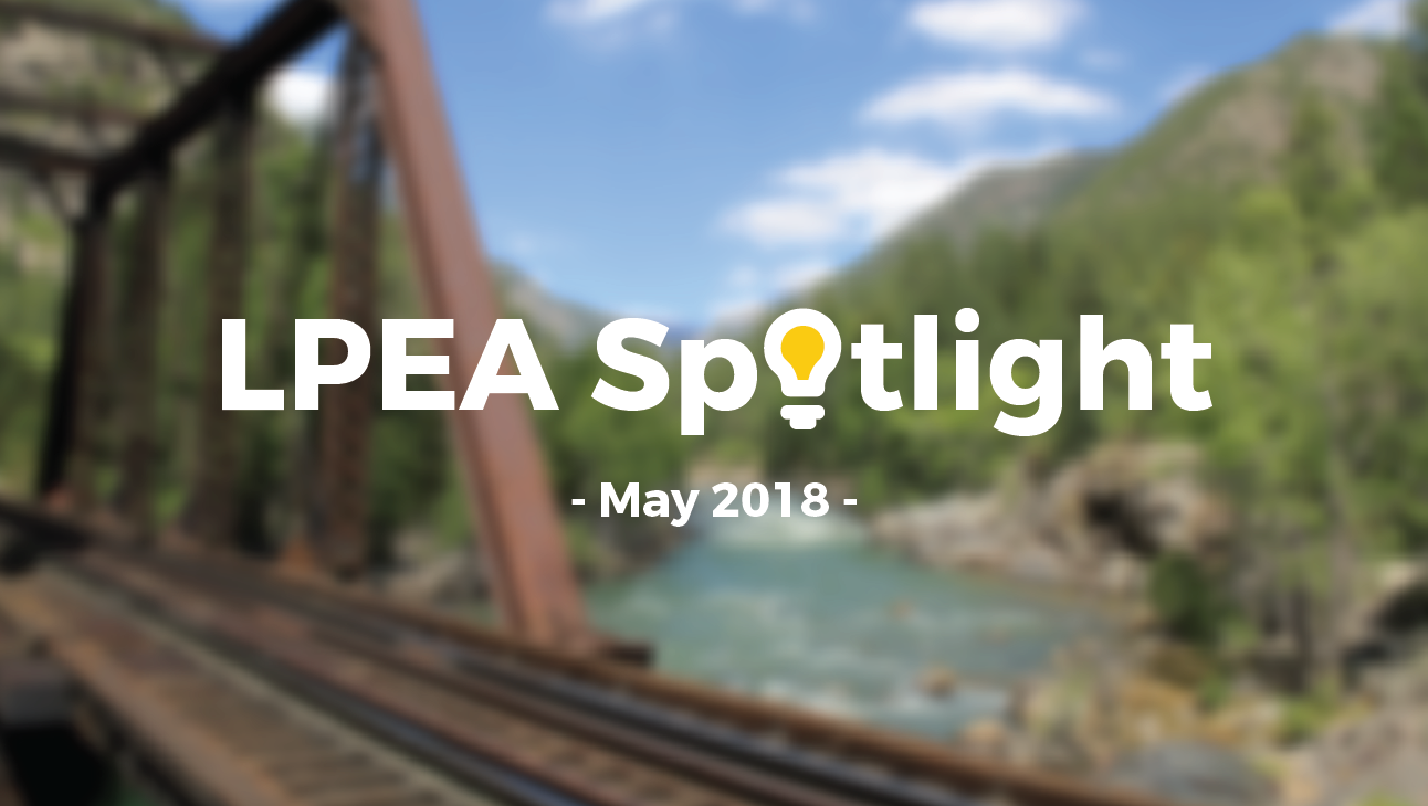May 2018 LPEA Spotlight