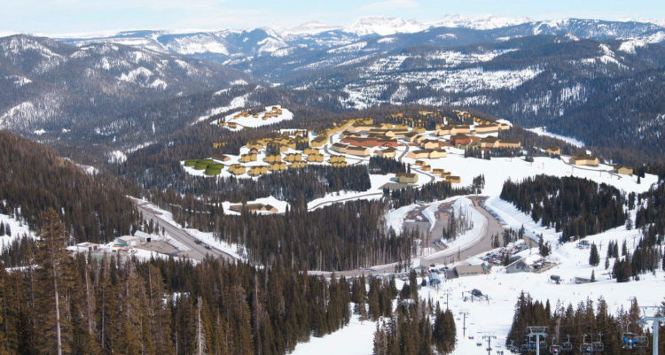 Max density rendering of Village at Wolf Creek