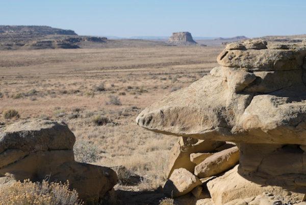Landscape around Chaco