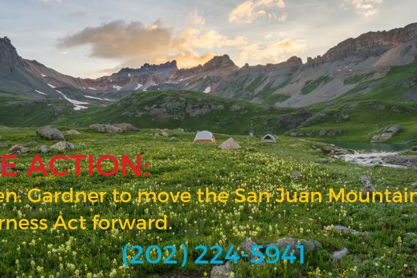 Take action: call senator Gardner