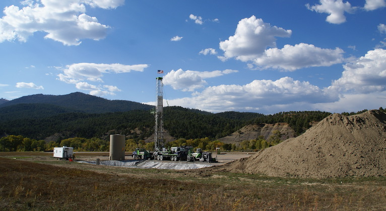 Drilling in the HD Mountains