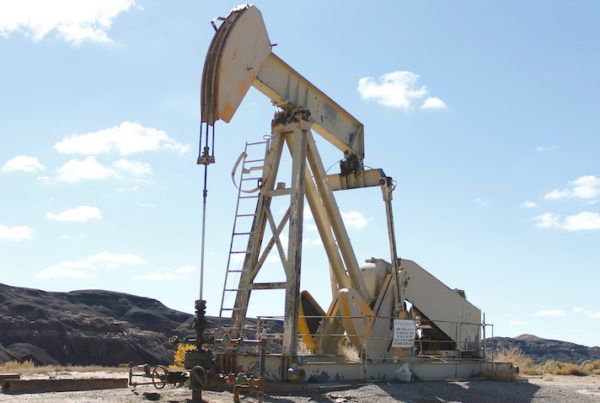 Oil well in Greater Chaco