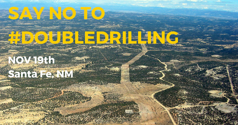 No Double Drilling Banner