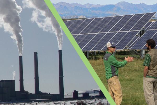 coal versus solar
