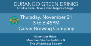 November Green Drinks